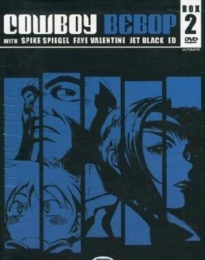 COWBOY BEBOP – ULTIMATE EDITION DVD BOX 2 (EPS 14-26) 4 DVD