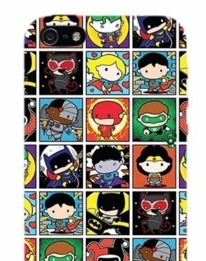 DC COMICS COVER IPHONE 5 SUPERHERO'S BOX OPACA