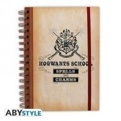 HARRY POTTER – NOTEBOOK HOGWARTS SCHOOL